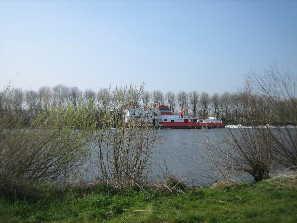Binnenvaart Amsterdam Rijnkanaal